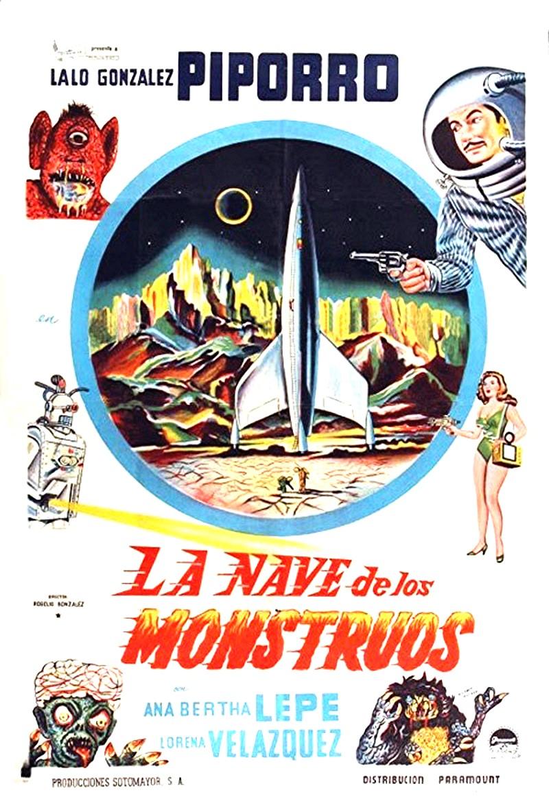مشاهدة فيلم La nave de los monstruos 1960 مترجم
