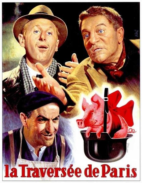مشاهدة فيلم 1956 Four Bags Full / La traversée de Paris مترجم