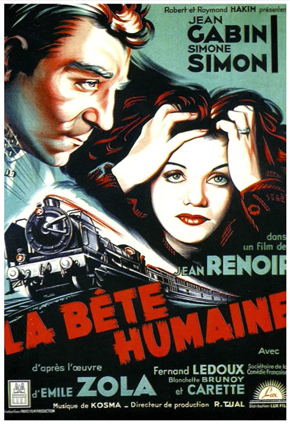 مشاهدة فيلم La Bete Humaine / The Human Beast 1938 مترجم