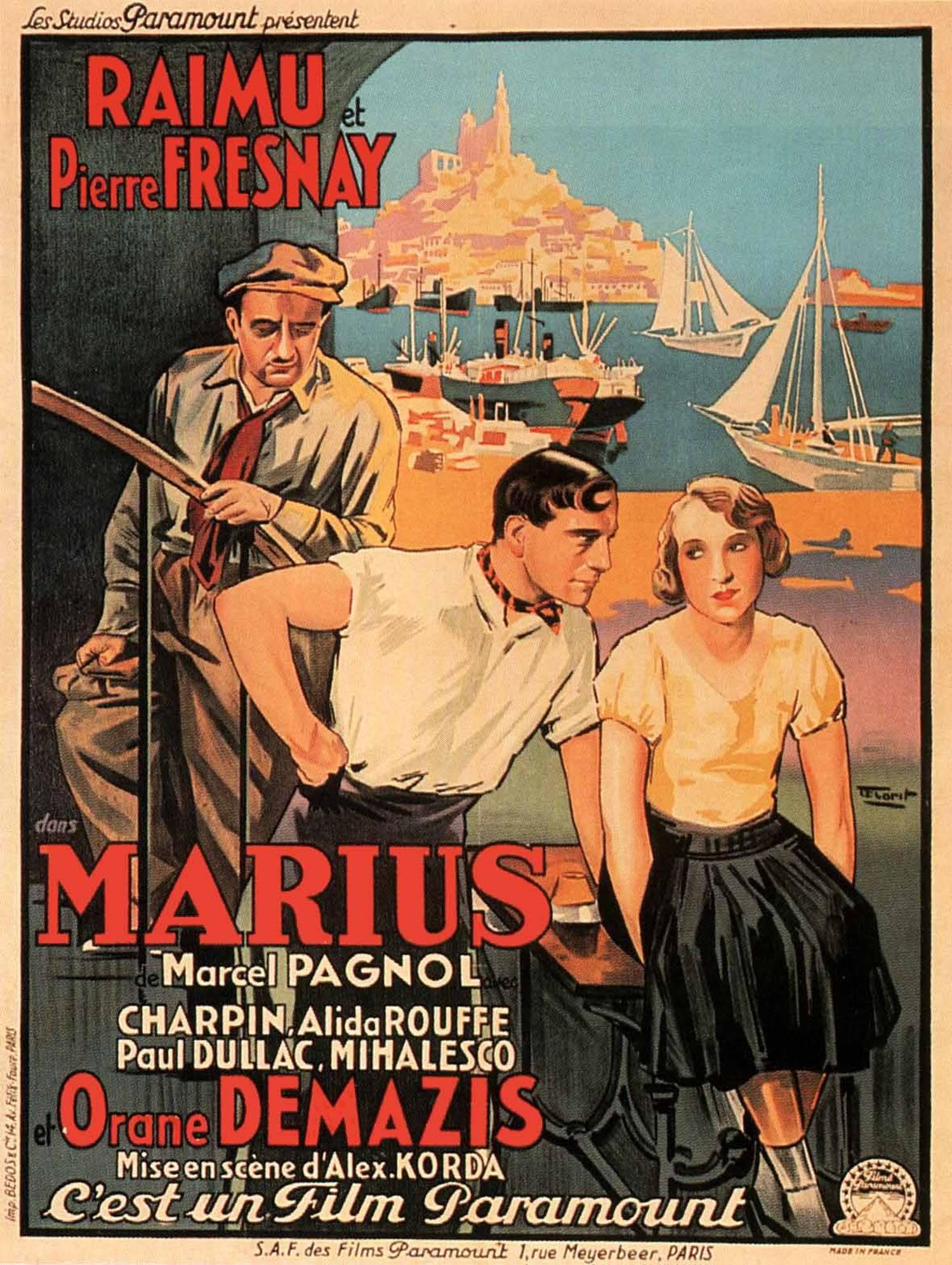 مشاهدة فيلم Marius (1931) (الجزء الأول) مترجم