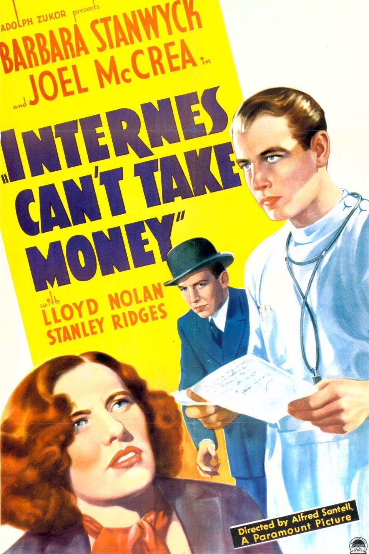 مشاهدة فيلم Internes Can't Take Money 1937 مترجم