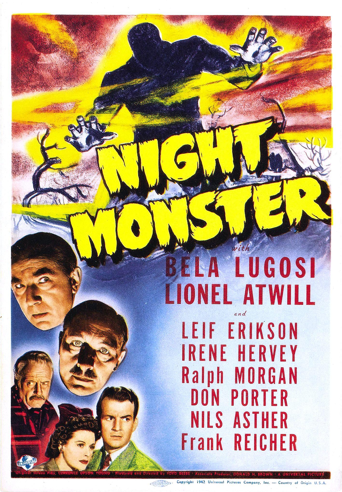 مشاهدة فيلم Night Monster (1942) مترجم