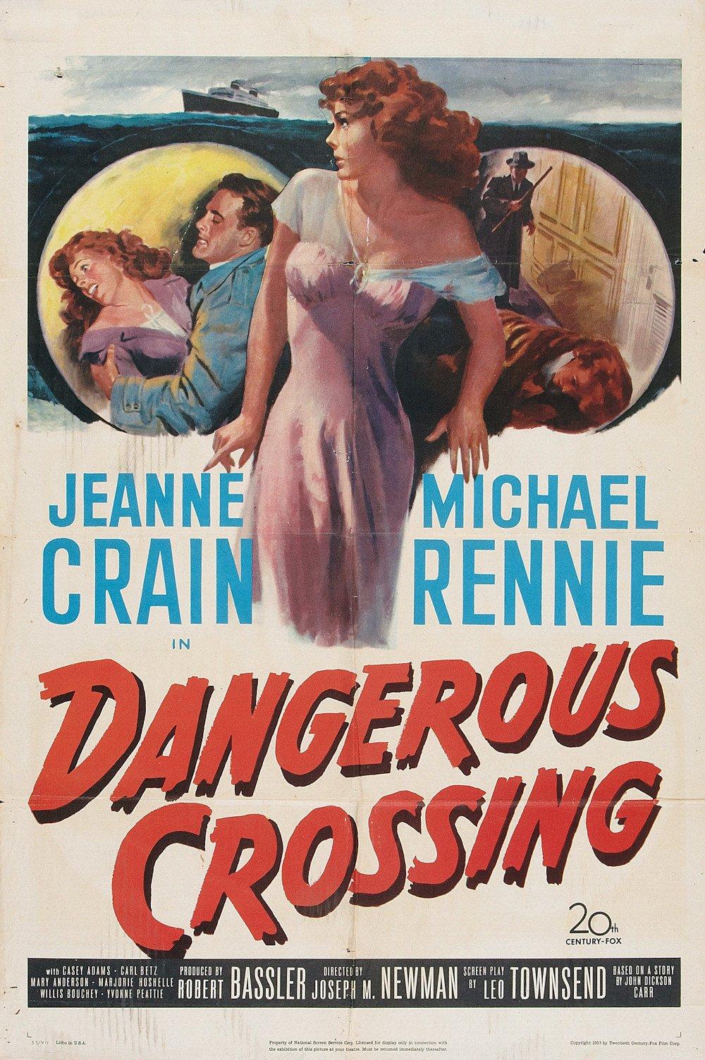 مشاهدة فيلم Dangerous Crossing 1953 مترجم