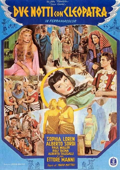 مشاهدة فيلم 1954 Due notti con Cleopatra / Two Nights with Cleopatra مترجم