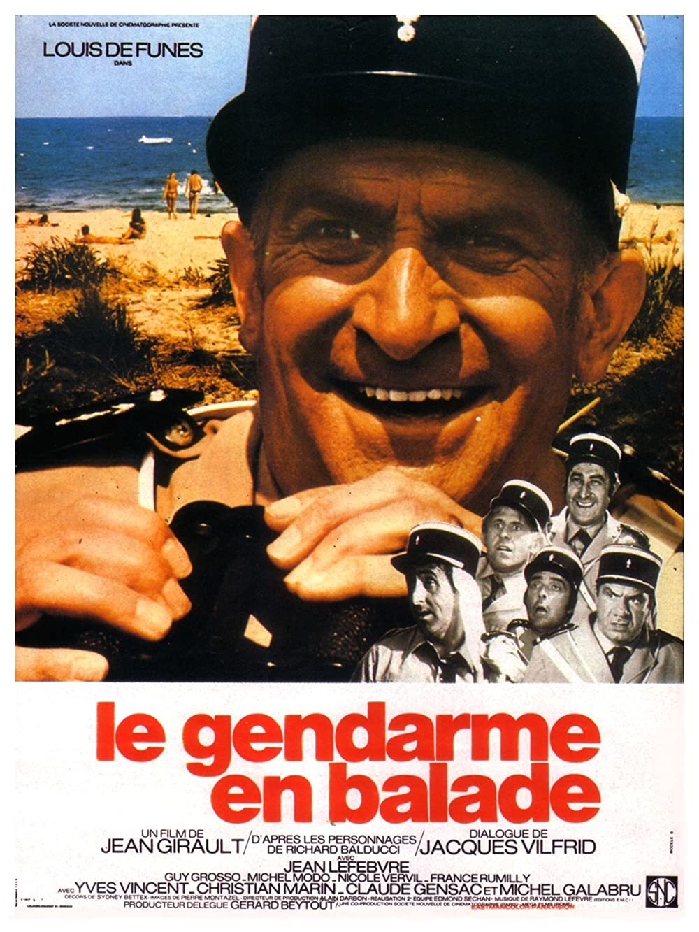 مشاهدة فيلم Le gendarme en balade (1970) مترجم