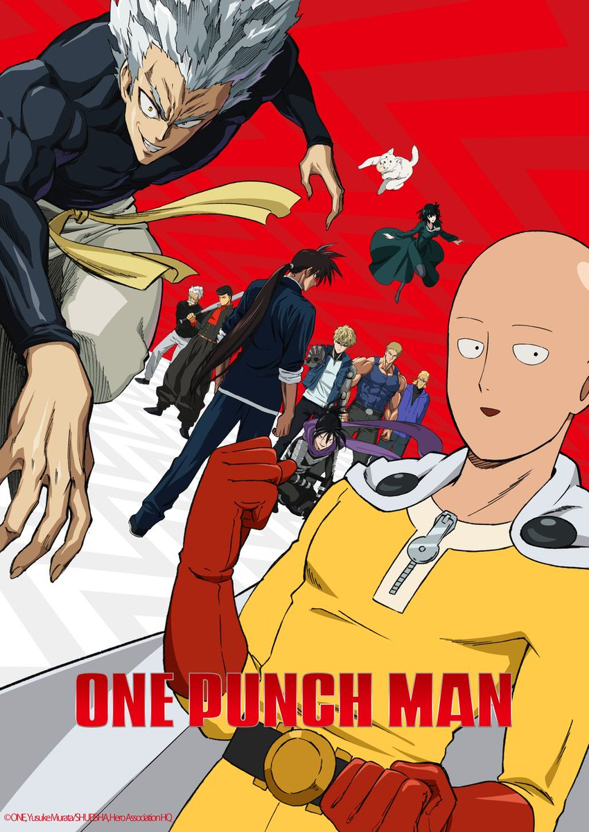 انمى One Punch Man الموسم الثانى حلقة 11 مترجمة