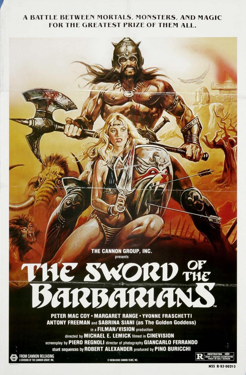 مشاهدة فيلم The Sword of the Barbarians (1982) مترجم