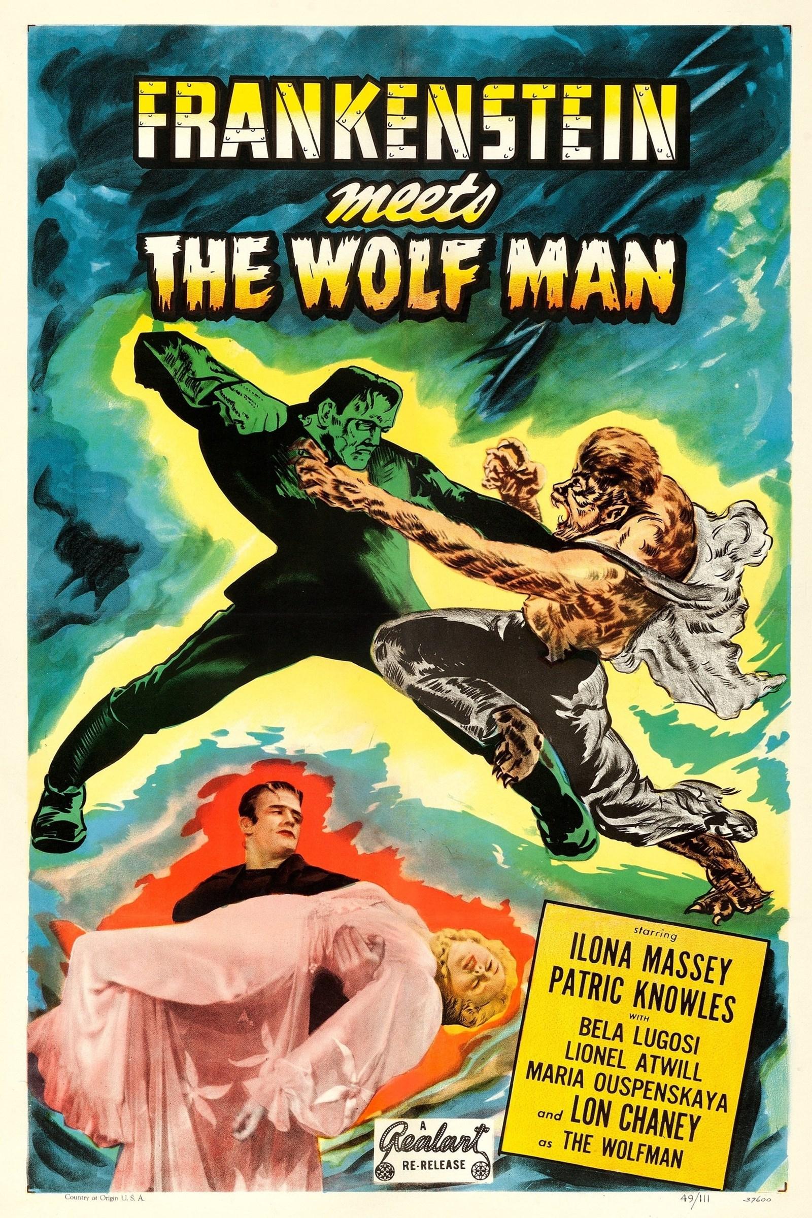 مشاهدة فيلم Frankenstein Meets the Wolf Man (1943) مترجم