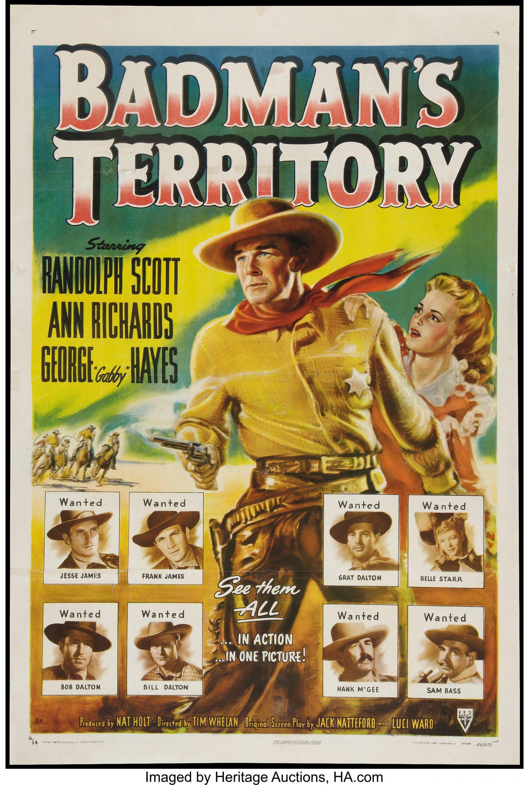 مشاهدة فيلم Badman's Territory (1946) مترجم