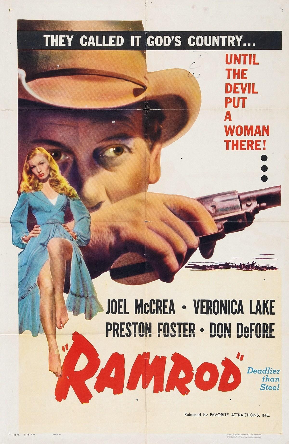 مشاهدة فيلم Ramrod (1947) مترجم