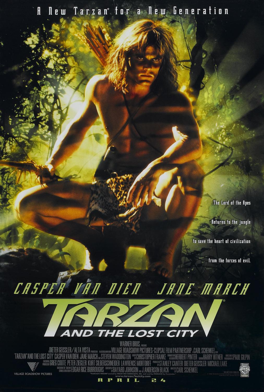 مشاهدة فيلم Tarzan And The Lost City 1998 مترجم