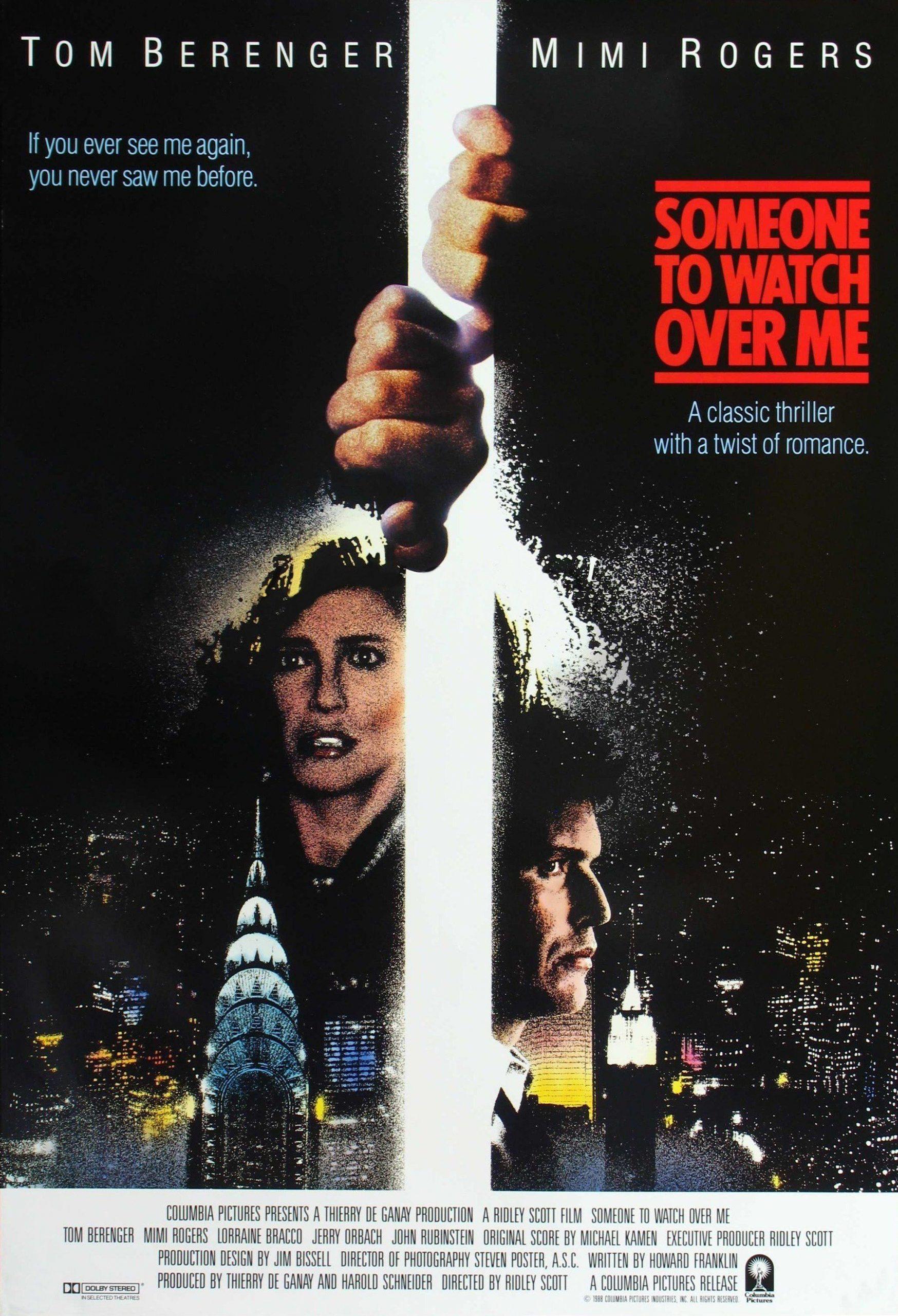 مشاهدة فيلم Someone to Watch Over Me (1987) مترجم