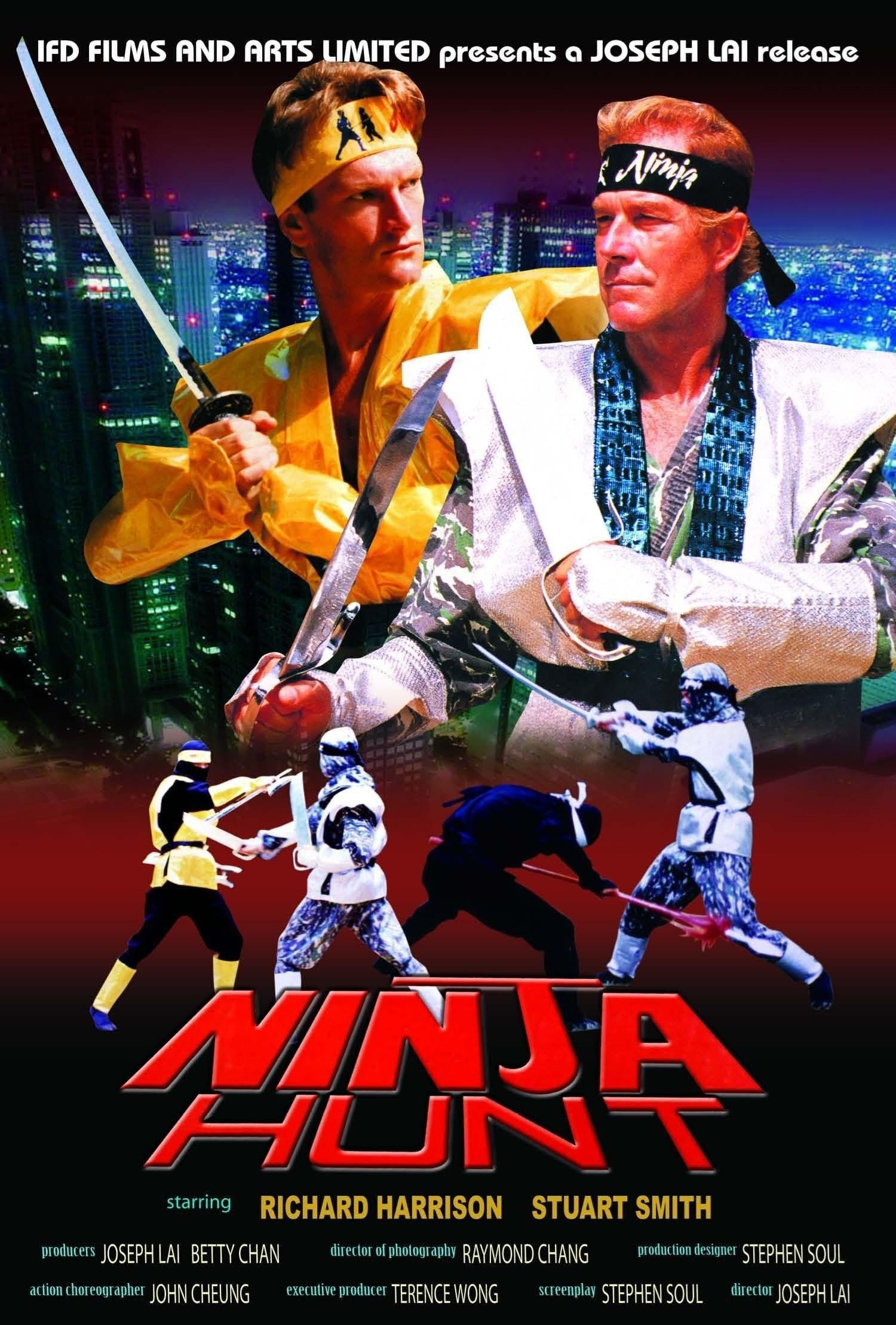 مشاهدة فيلم Ninja Hunt (1987) مترجم