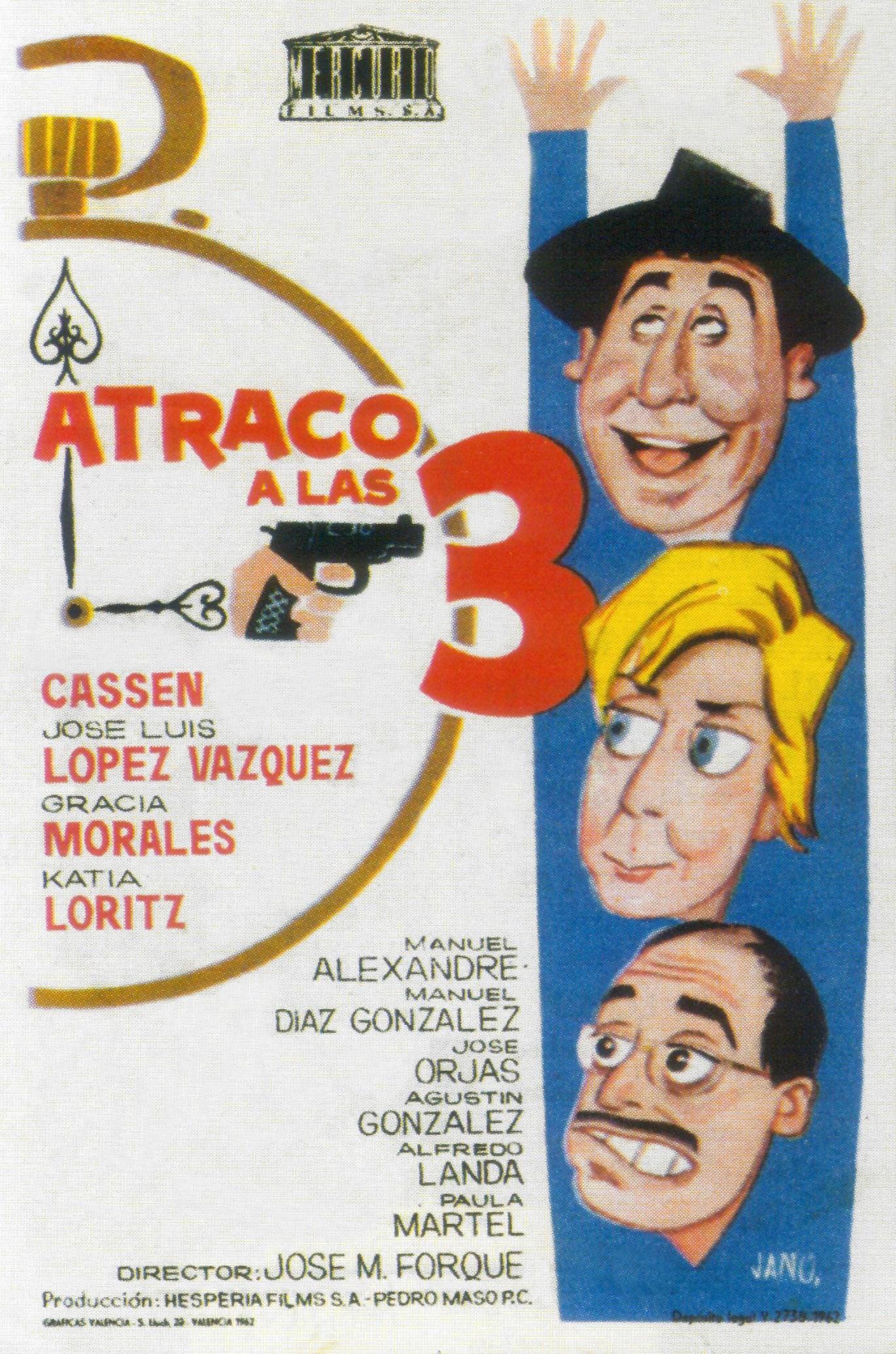 مشاهدة فيلم Atraco a las tres (1962)/ Robbery at 3 O'clock مترجم