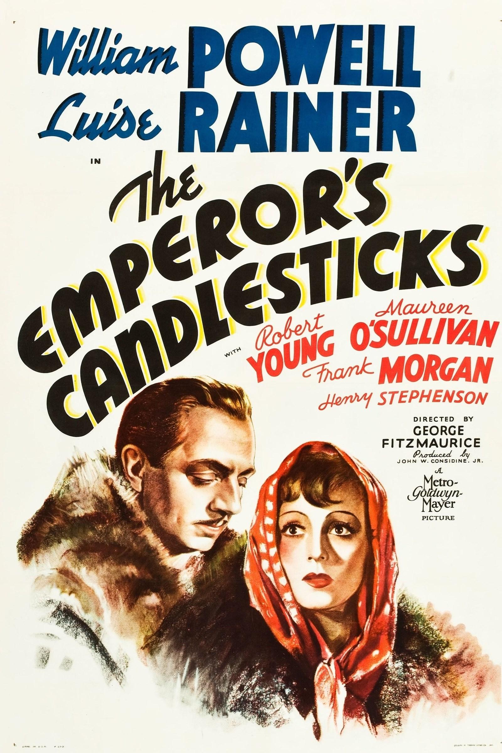 مشاهدة فيلم The Emperor's Candlesticks (1937) مترجم
