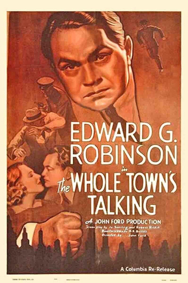 مشاهدة فيلم The Whole Towns Talking (1935) مترجم